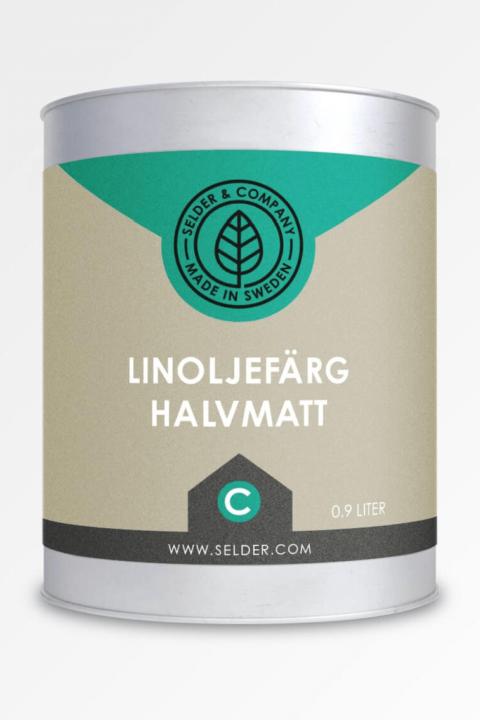 Linoljefärg Halvmatt Selder & Company (C bas)